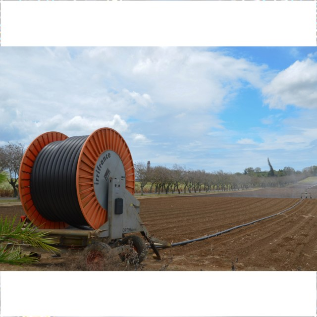 Terra Irrigation Irrifrance Reel Machine